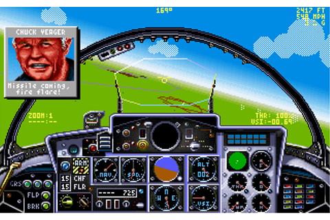 Download Chuck Yeager's Air Combat - My Abandonware