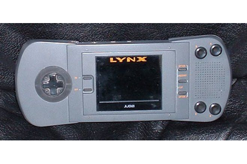 Atari Lynx handheld console with Gates of Zendocon game ...