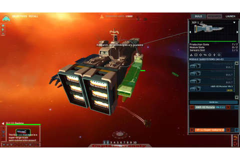 Homeworld 2 - Macross Mod - YouTube
