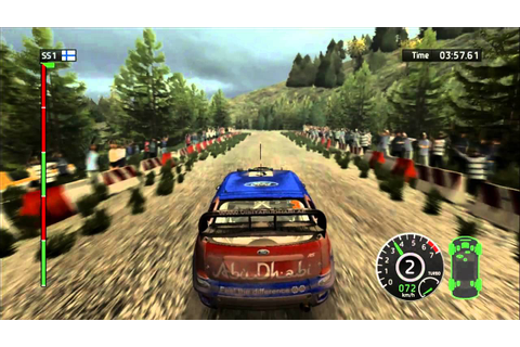 WRC: FIA World Rally Championship 2010 HD gameplay - YouTube