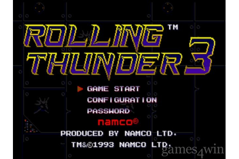 Rolling Thunder 3 Download on Games4Win