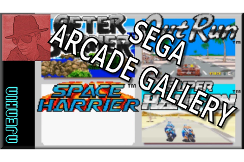 Space Harrier - SEGA Arcade Gallery - on the Game Boy ...