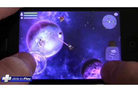 Space Miner: Space Ore Bust iPhone Game Hands-On Gameplay ...