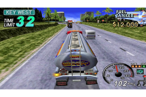 18 Wheeler: American Pro Trucker GameCube Gameplay HD ...