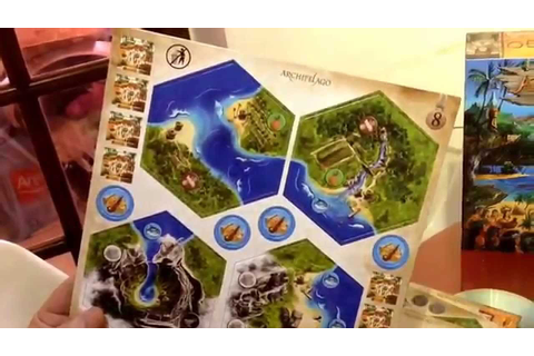 "Archipelago board game 2014 reprint ""what's in the box ..."