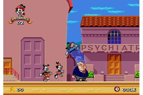 Animaniacs (1994) by Konami Mega Drive game