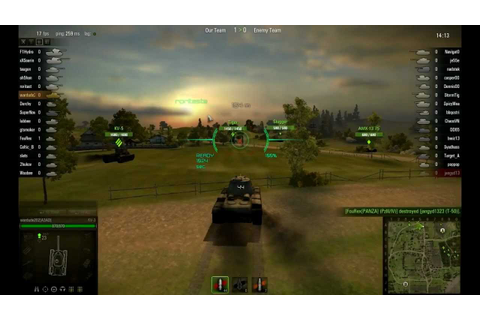 "World Of Tanks Overlay ""WOT"" Tank Game - YouTube"