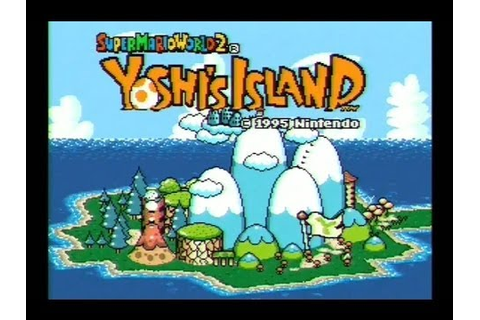 Super Mario World 2 Yoshi's Island SNES Gameplay - YouTube