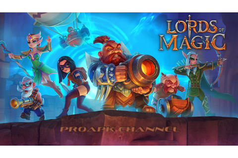 Lords of Magic: Fantasy War Gameplay IOS / Android - YouTube