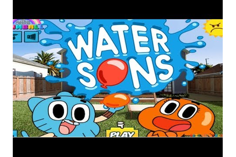 The Amazing World Of GUMBALL - Water Sons Game - Best Kid ...