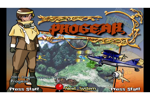 Progear (2001) Capcom Mame Retrô Arcade Games - YouTube