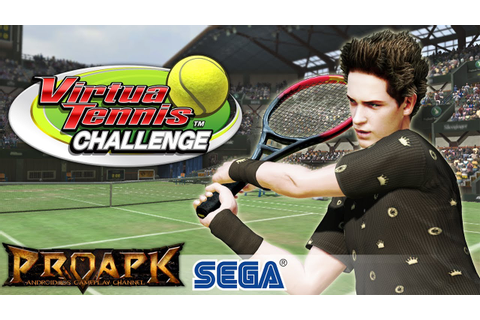Virtua Tennis Challenge Gameplay Android / iOS (by SEGA ...
