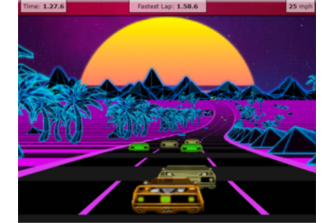 Outrun 3D Javascript - Videogame published by Jakes Gordon ...