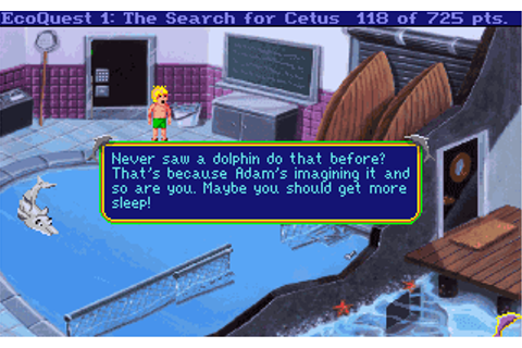 Download EcoQuest: The Search for Cetus - My Abandonware