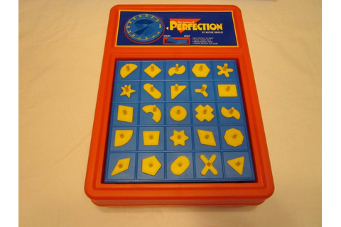 Vintage Perfection pop up game Milton Bradley 1995 Retro