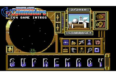 C64 Game Intro: Supremacy: Your Will Be Done / Overlord ...