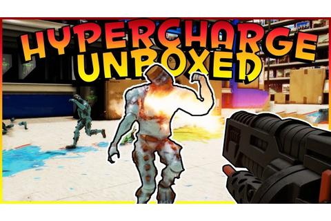 HYPERCHARGE : UNBOXED Awesome toys game for kids and adult ...