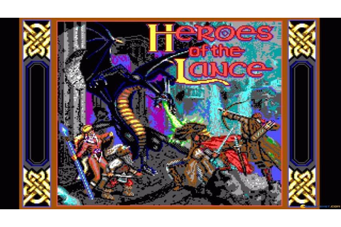 Heroes of the Lance gameplay (PC Game, 1988) - YouTube