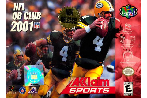 NFL Quarterback Club 2001 Nintendo 64 Game