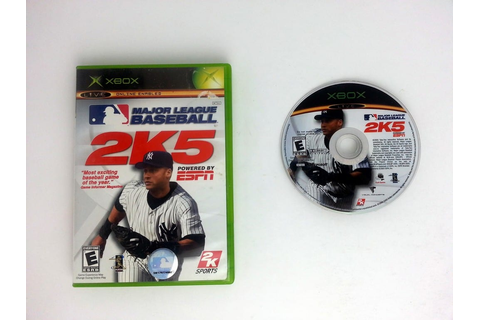 ESPN Major League Baseball 2K5 game for Xbox | The Game Guy