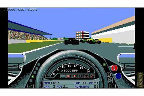 Formula One Grand Prix (F1GP) (Amiga) - A Track Guide and ...