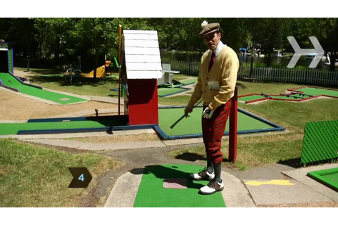 How to Become a Miniature Golf Master - YouTube