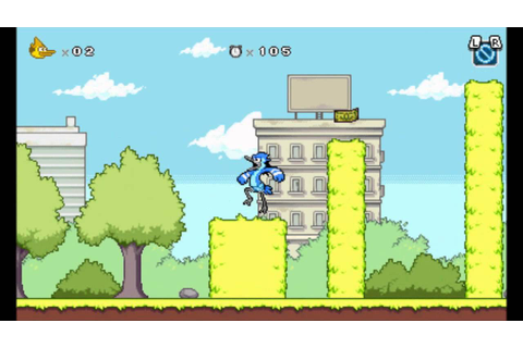 Regular Show Mordecai & Rigby In 8-Bit Land Nintendo 3DS ...