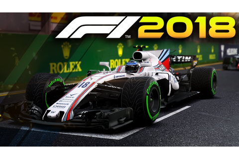 GAMEPLAY OF THE F1 2018 WILLIAMS CAR LIVERY! (Formula 1 ...
