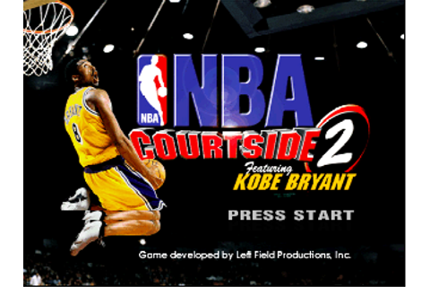 NBA Courtside 2 featuring Kobe Bryant (USA) ROM
