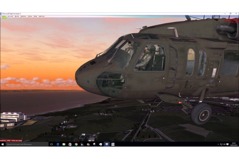 FSX Cera Sim UH-60 Black Hawk Helicopter Quick Look ...