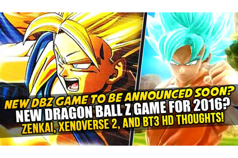New Dragon Ball Z Game for 2016? Zenkai Battle Royale ...