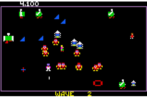 Robotron: 2084 full game free pc, download, play.