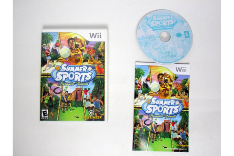 Summer Sports Paradise Island game for Nintendo Wii | The ...