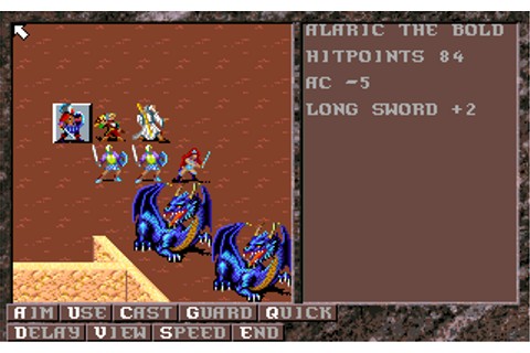 Dark Queen of Krynn | Old DOS Games | Download for Free or ...