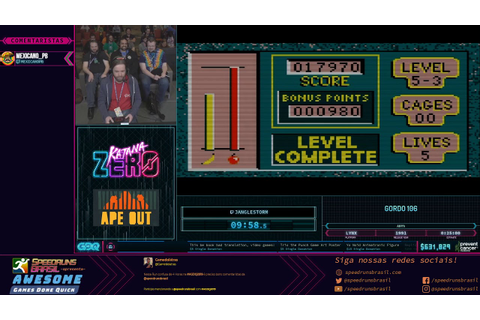 Gordo 106 (Any%) - Restream PT-BR da AGDQ 2019! - YouTube