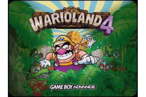 Wario Land 4 music- Title song - YouTube