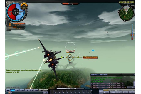 Ace Online « MMO Flight Shooter
