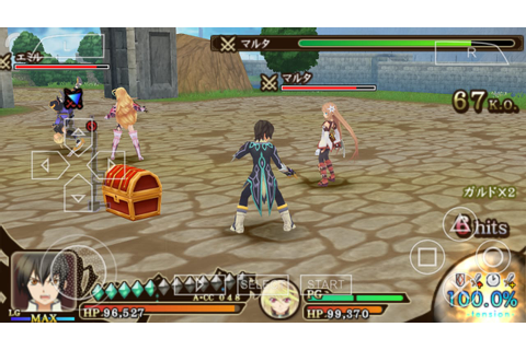 Tales Of The Heroes: Twin Brave (English Patched) PSP ISO ...