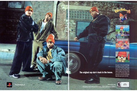 "Video Game Print Ads — ""PaRappa the Rapper 2"" via Computer ..."