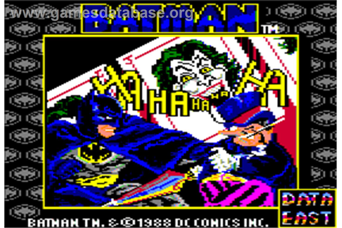 Batman: The Caped Crusader - Apple II - Games Database