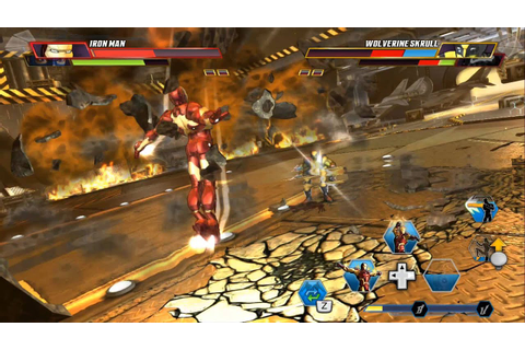 Marvel Avengers: Battle for the earth - Wii U Gameplay ...