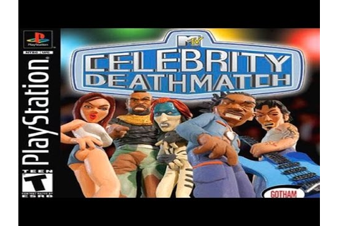 Awful Playstation Games: MTV's Celebrity Deathmatch Review ...
