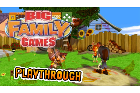 Big Family Games/Neighborhood Games (Wii) Playthrough ...
