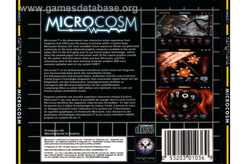 Microcosm - Sega CD - Games Database