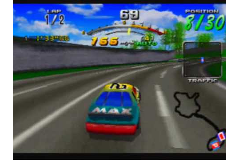 Daytona USA: Championship Circuit Edition Game Sample ...