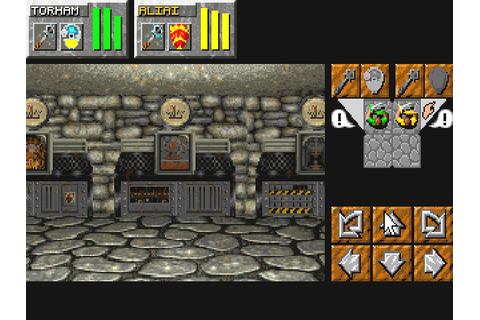 Dungeon Master II: The Legend of Skullkeep (1995 - DOS ...