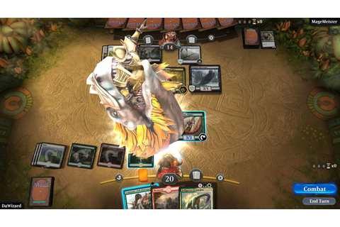 MTG Arena hands-on: the next phase of Magic: The Gathering ...