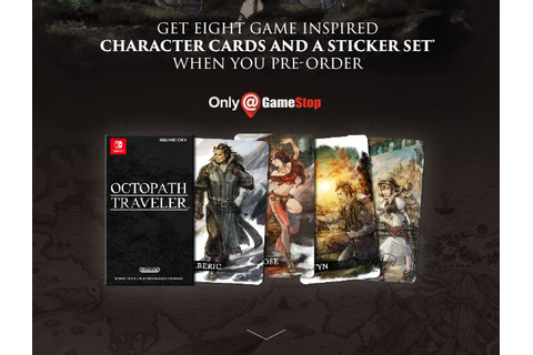 Complete Guide to Octopath Traveler Preorder Bonuses ...