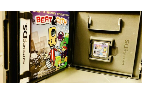 Nintendo DS BEAT CITY Start A Rhythm Revolution Complete ...