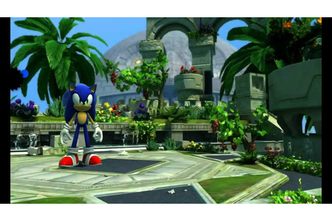 Sonic Generations - Sky Sanctuary Zone (Act 2) - YouTube